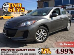 2013 Mazda MAZDA3 GS-SKY ACTIVE MOON ROOF HEATED FRONT SEATS