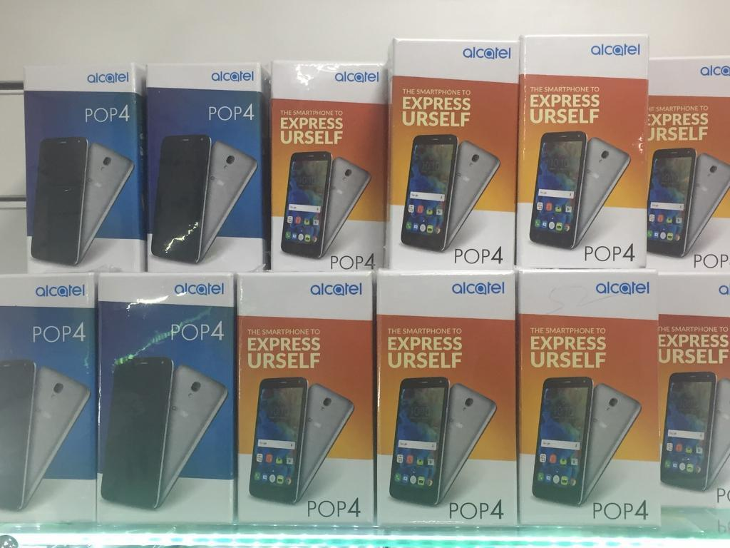 Cheap phone Alcatel pop 4(4G lte quad core 5.0ips lamination display 8mp camerain Luton, BedfordshireGumtree - ALL PHONE COMES WITH WARRANTY AND RECEIPTAny colour comes with box and all accessories Unlocked WE DO ALL KIND OF BASIC AND SMART PHONES WHOLE SALESBUY IT WITH CONFIDENCE To find out more info plz call or text me