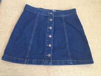 Denim skirt - Size 12