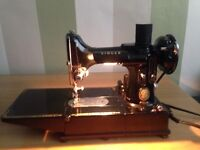 Singer 222k sewing machine vintage