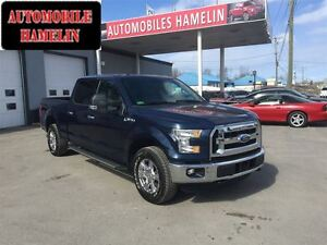 2015 Ford F-150 XLT MAGS CHROME MARCHE-PIED  6 PLACES 4X4 FULL