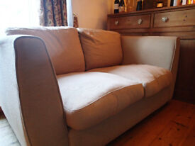 SOFA vgc £ 50. Complies with fire safety regs. Removeable cushion covers