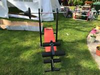 Pro Fitness Bench Press With Bar
