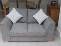 Lovely Grey Fleck 2 Seater Sofa 3mths old