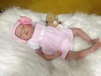 "Reborn Baby Doll "" Harper "" Realistic Newborn Lifelike"