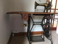 Singer treadle sewing machine
