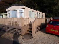 Cosalt Riverdale 2 Bed Static (2007) 28x12. Double Glazed, Very clean inside and out.
