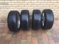 """Genuine BMW F10 17"""" Alloys and Winter Tyres"""