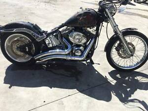 HARLEY DAVIDSON SOFTAIL 10/2006 MODEL PROJECT MAKE AN OFFER Campbellfield Hume Area Preview