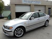 2004 BMW 330xi AWD-SUNROOF-LEATHER-ALLOYS