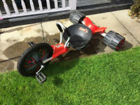 Urban Street 3 wheeler racer - Black & red