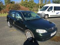 VAUXHALL ASTRA AUTOMATIC 1.6 PETROL, low mileage, full History, recent cambelt change