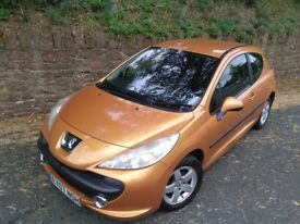 Peugeot 207 1.4 16v Sport Salamanca orange NEW MOT