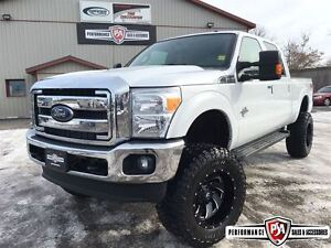 2015 Ford F-350 SUPER DUTY LARIAT LIFTED 4X4 POWERSTROKE DIESEL!
