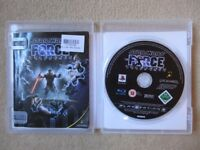 PS3 Star Wars The Force Unleashed Game - Excellent Condition