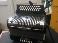 Hohner panther gcf diatonic accordion poss Free Del Devon Cornwall