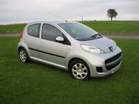 2009 Peugeot 107 1.0 Urban, 5Dr, £20 Yr Tax, 12 Month mot. £1,495. (P/X Welcome)