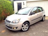 ****PART EX TO CLEAR**** 2006 FORD FIESTA ZETEC CLIMATE TDCI 1.4 DIESEL SILVER 5 DOOR £30 ROAD TAX