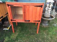 New wooden rabbit/guinea pig hutch.