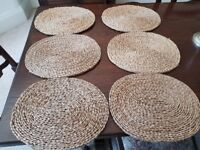 Rattan style placemats x10