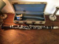 Selmer Karl Mayer Clarinet - Vintage / Antique Clarinet - Silver - Rosewood - Ebony Clarinet-Must Go