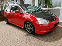 ***Honda Civic Type R Ep3 30th Anniversary ITB'S 260BHP***