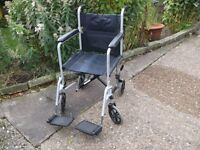 Z TEC FOLDING WHEELCHAIR WITH FOOTRESTS