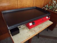 Catering Van, Lpg Griddle , Hot Plate , Barbecue 80x40 cm XLarge