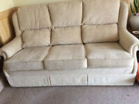 3 Piece Suite for sale. One sofa and 2 armchairs.