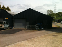 Storage, workshop, light industrial unit 2,300 sqft to rent
