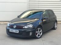 2013 VW Volkswagen Golf 2.0 GTI 5DR BLACK ***FULL HEATED LEATHER***CHOICE OF TWO NOT S3