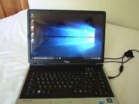 Fujitsu Siemens Amilo Pi2515 Core 2 Windows 10 Laptop and Charger
