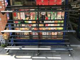 Shop Mobile Fruit/Veg Display Shelving