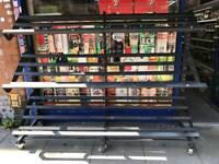 Shop Mobile Fruit/Veg Display Shelving