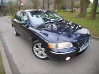 VOLVO S60 FACELIFT 2.4 D5 DIESEL *FULL YEARS MOT* *FULL LEATHER*like passat a4 530d avensis e220