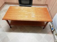 Coffee Table (with wheels) - Free