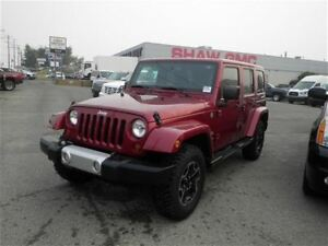 2013 Jeep WRANGLER UNLIMITED Sahara | Leather | Remote Start | N