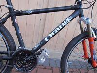 Orange O2 xc/downhill mountain bike (£370 ono)