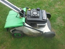 Etesia self drive rotary mower