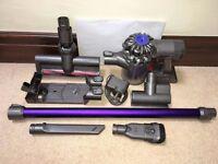 Dyson dc59 Animal digital slimline cordless vacuum cleaner.