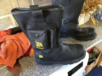 JCB Steel Toe Cap Work Boots size 12