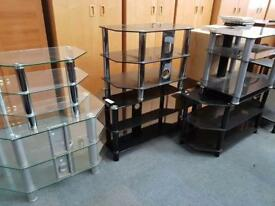 Assortment of television stands