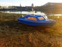 17ft Shetland 535 fishing boat