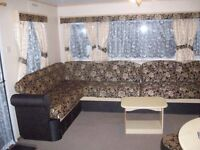 Three bed caravan to hire at CAMBER SANDS