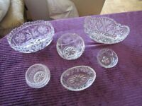 GLASS BOWLS. JOB LOT. ALL PERFECT CONDITION