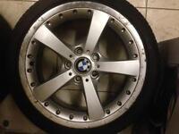 18 inch genuine Bmw alloy wheels pcd 5x120