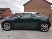 Mini Coupe SD British Racing Green, very high specification