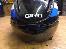 Giro air attack helmet with visor/triathlon /tt