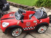 Remote and pedal controlled car. Fantastic for kids from 1-4 years.
