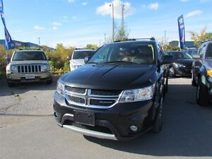 2012 Dodge Journey R/T   AWD   LEATHER   ROOF   ONE OWNER London Ontario image 3